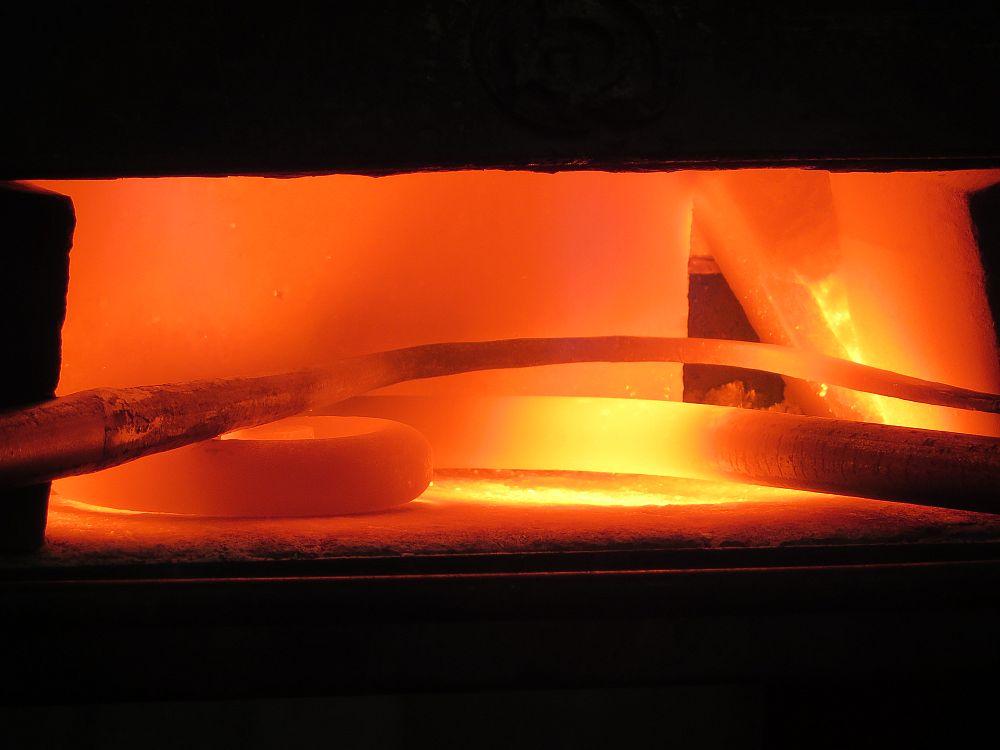 Fase di riscaldamento del ferro